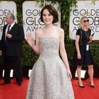 Michelle Dockery en los Globos de Oro 2014