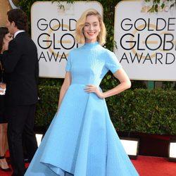 Caitlin Fitzgerald en los Globos de Oro 2014