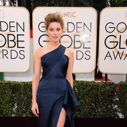 Amber Heard en los Globos de Oro 2014