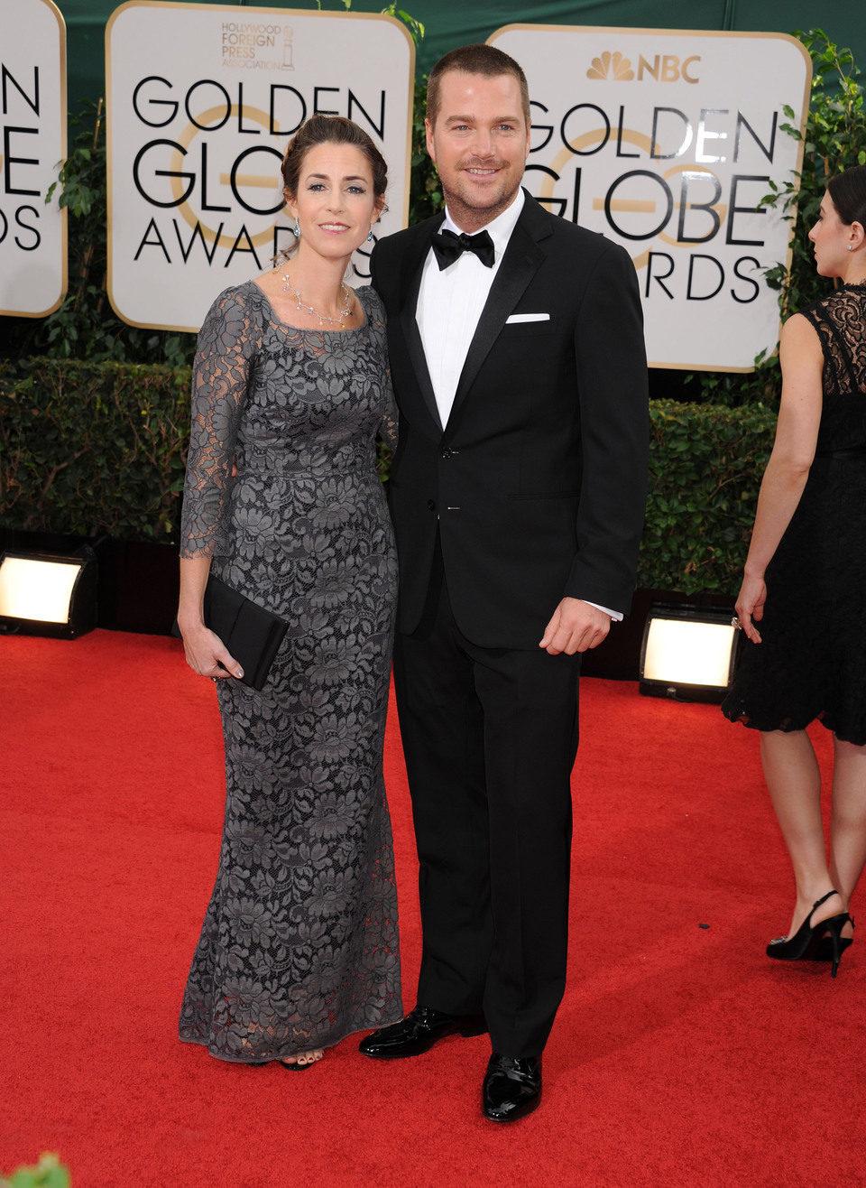 Chris O'Donnell en los Globos de Oro 2014