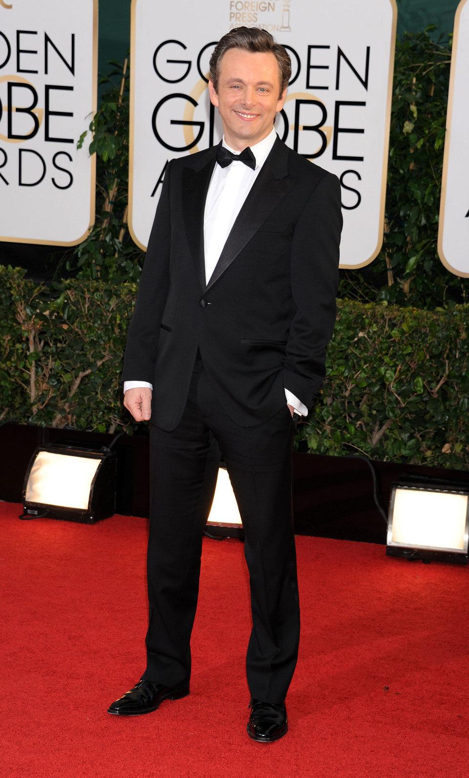 Michael Sheen en los Globos de Oro 2014