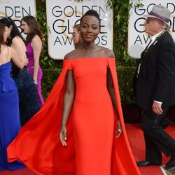Lupita Nyong'o en los Globos de Oro 2014