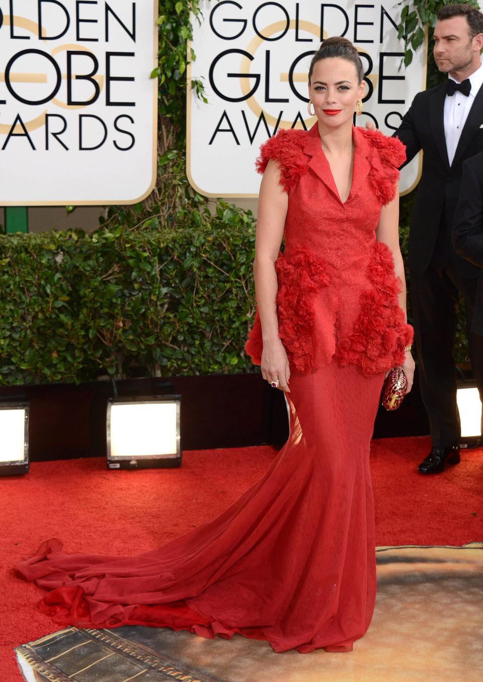 Bérénice Bejo en los Globos de Oro 2014