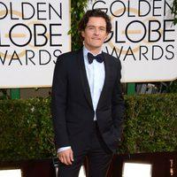 Orlando Bloom en los Globos de Oro 2014