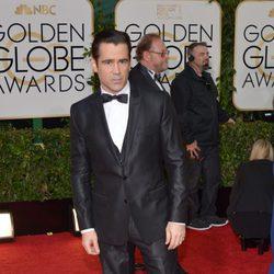 Colin Farrell en los Globos de Oro 2014