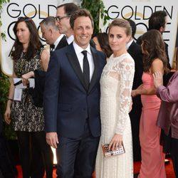 Seth Meyers en los Globos de Oro 2014
