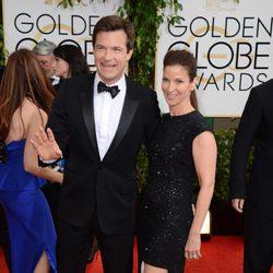 Jason Bateman en los Globos de Oro 2014