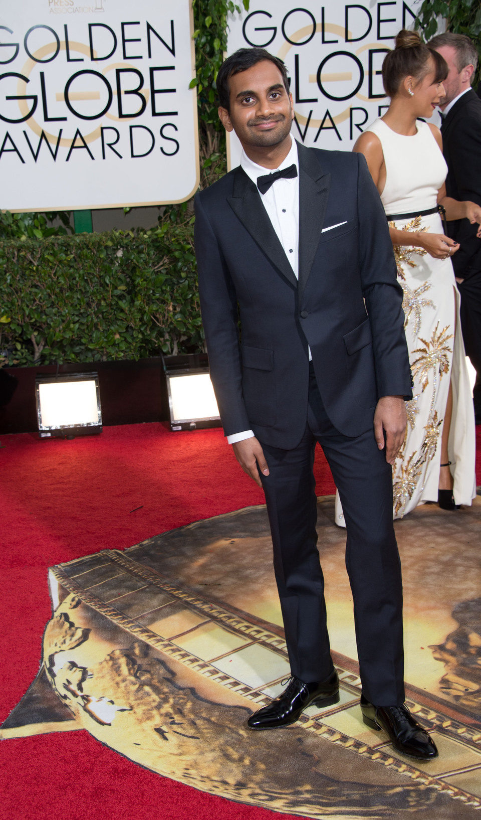 Aziz Ansari en los Globos de Oro 2014