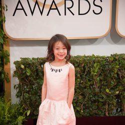 Aubrey Anderson-Emmons en los Globos de Oro 2014