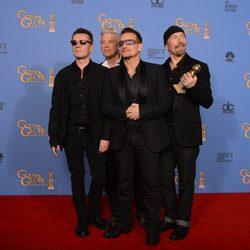 U2, mejor canción en los Globos de Oro 2014