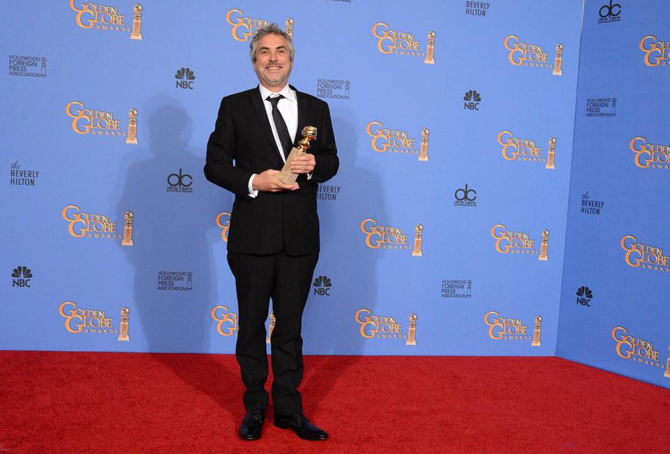 Alfonso Cuarón, mejor director en los Globos de Oro 2014