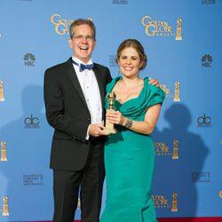 Chris Buck y Jennifer Lee, mejor película de animación en los Globos de Oro 2014