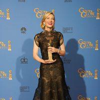 Cate Blanchett, mejor actriz de drama en los Globos de Oro 2014