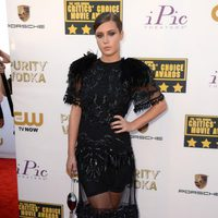 Adèle Exarchopoulos a su llegada a la gala de los Critics' Choice Movie Awards 2014