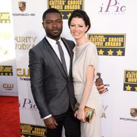 David Oyelowo a su llegada a la gala de los Critics' Choice Movie Awards 2014