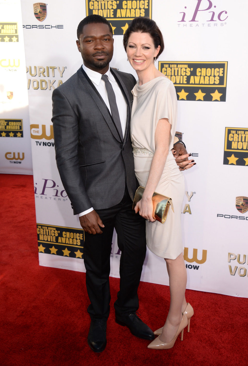David Oyelowo a su llegada a la gala de los Critics' Choice Movie Awards 2014
