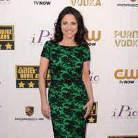 Julia Louis-Dreyfus a su llegada a la gala de los Critics' Choice Movie Awards 2014