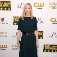 Cate Blanchett a su llegada a la gala de los Critics' Choice Movie Awards 2014