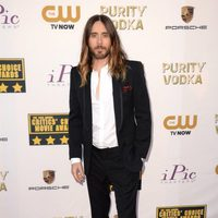Jared Leto a su llegada a la gala de los Critics' Choice Movie Awards 2014