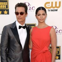 Matthew McConaughey a su llegada a la gala de los Critics' Choice Movie Awards 2014