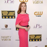 Amy Adams a su llegada a la gala de los Critics' Choice Movie Awards 2014