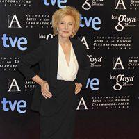 Marisa Paredes en la alfombra roja de la fiesta de los nominados a los premios Goya 2014
