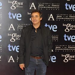 Eduard Fernández en la alfombra roja de la fiesta de los nominados a los premios Goya 2014