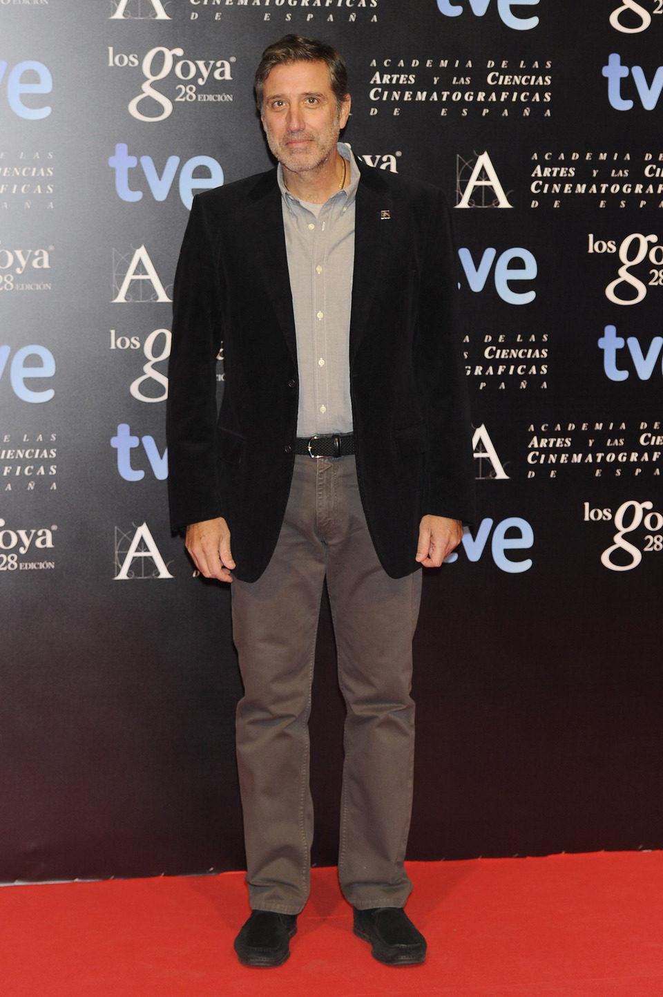 Emilio Aragón en la alfombra roja de la fiesta de los nominados a los premios Goya 2014
