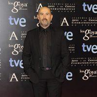 Javier Cámara en la alfombra roja de la fiesta de los nominados a los premios Goya 2014