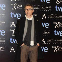 David Trueba en la alfombra roja de la fiesta de los nominados a los premios Goya 2014