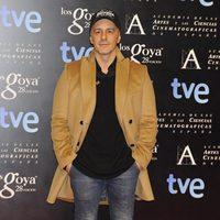 Roberto Álamo en la alfombra roja de la fiesta de los nominados a los premios Goya 2014