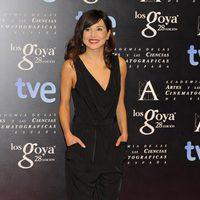 Marian Álvarez en la alfombra roja de la fiesta de los nominados a los premios Goya 2014