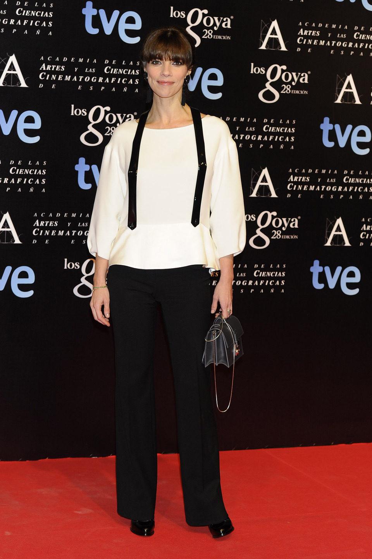 Maribel Verdú en la alfombra roja de la fiesta de los nominados a los premios Goya 2014
