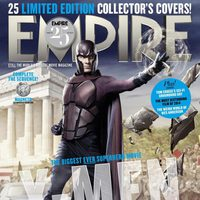 Portadas de Empire de 'X-Men: Días del futuro pasado'
