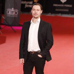 Jan Cornet en los Premios Feroz 2014