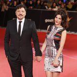 Carlos Bardem y Cecilia Gessa en los Premios Feroz 2014