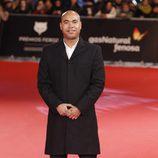 Santiago Zannou en los Premios Feroz 2014