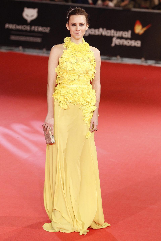 Aura Garrido en los Premios Feroz 2014