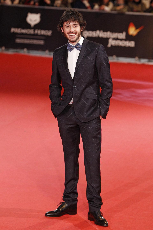 Javier Pereira en los Premios Feroz 2014