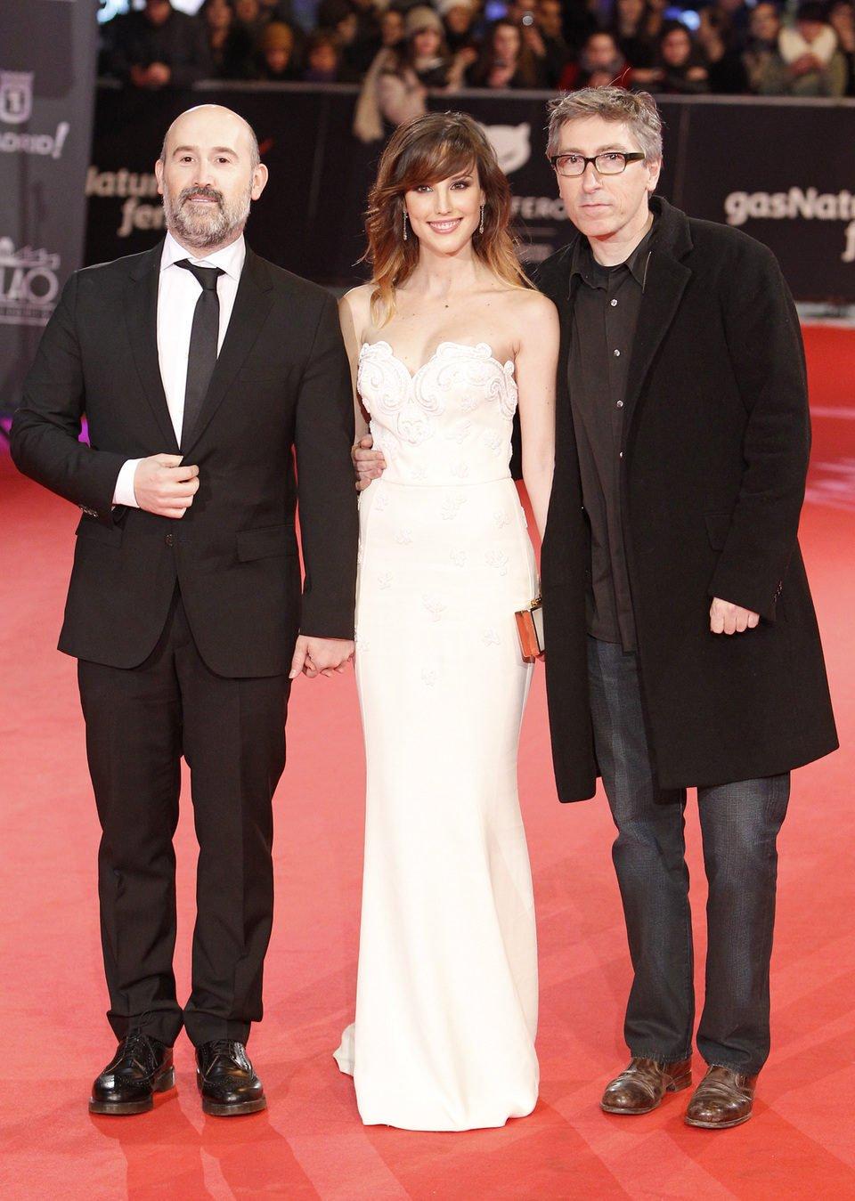 Javier Cámara, Natalia de Molina y David Trueba en los Premios Feroz 2014