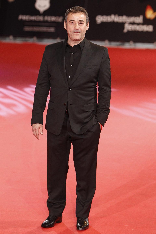 Eduard Fernández en los Premios Feroz 2014