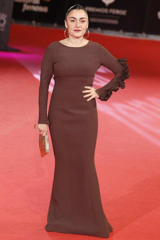 Candela Peña en los Premios Feroz 2014
