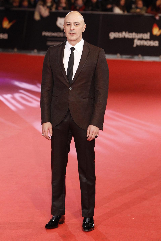 Roberto Álamo en los Premios Feroz 2014