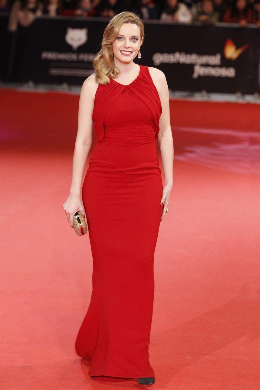 Carolina Bang en los Premios Feroz 2014