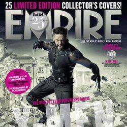 Portada de Lobezno atacando de 'X-Men: Días del futuro pasado'