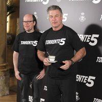 Santiago Segura y Alec Baldwin presentan 'Torrente 5' en Madrid