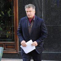Alec Baldwin en el set de rodaje de 'Torrente 5'