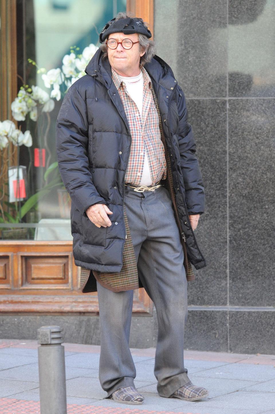 Barragán en el set de rodaje de \'Torrente 5\', Tamaño completo ...