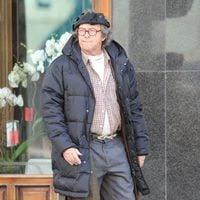 Barragán en el set de rodaje de 'Torrente 5'