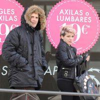 Julián López y Angy en set de rodaje de 'Torrente 5'